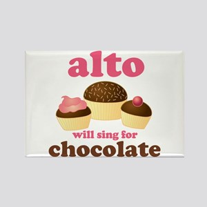 Funny Alto Rectangle Magnet